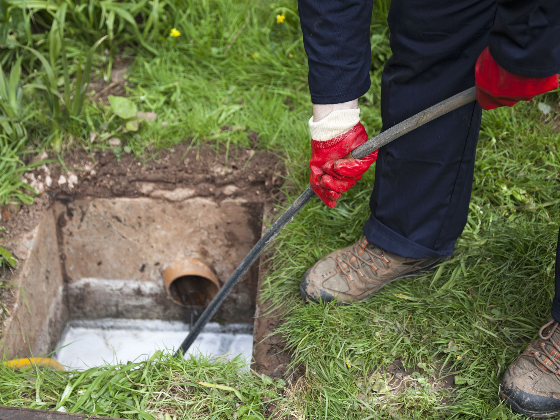 Get rid of the problems with your septic tank